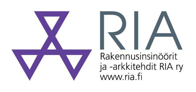 RIA Rakennusinsinöörit ja -arkkitehdit -logo